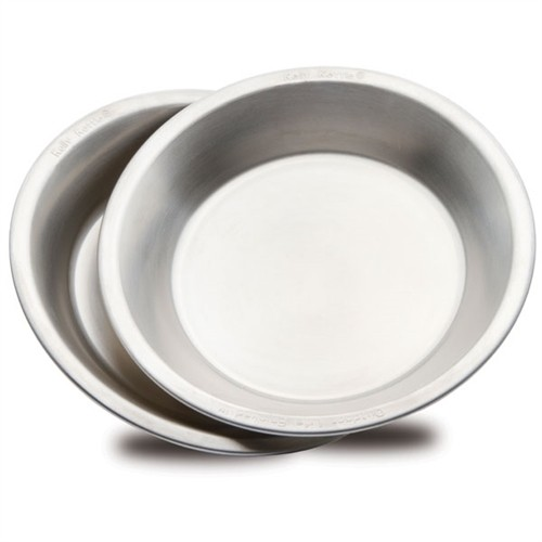 Camping Plate/Bowl set (2 pcs) Stainless Steel